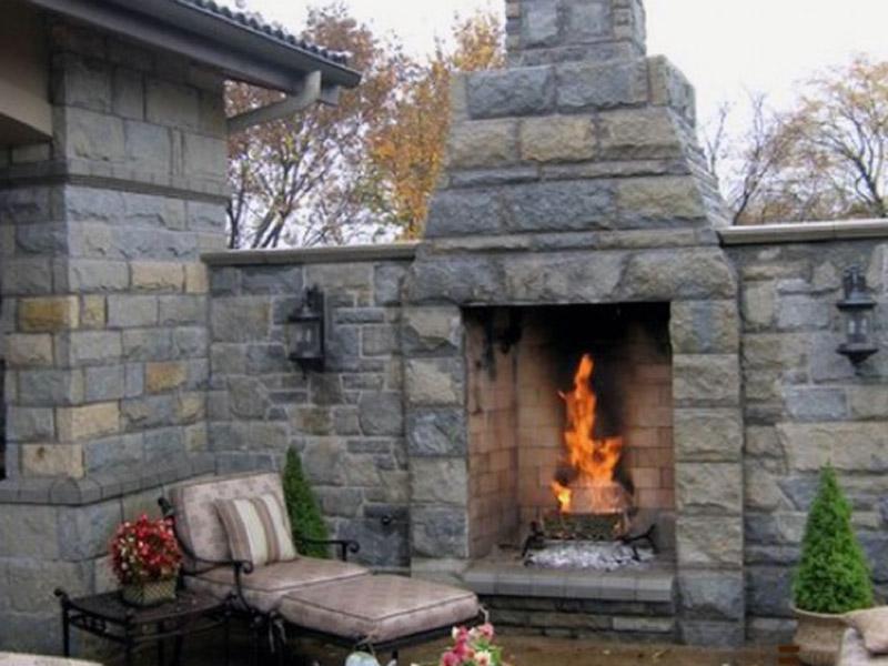 Outdoor Wood Fireplaces San Carlos California 94070 650